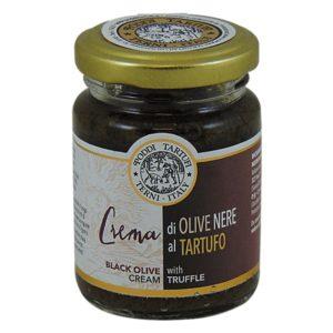 krem z czarnych oliwek z truflami