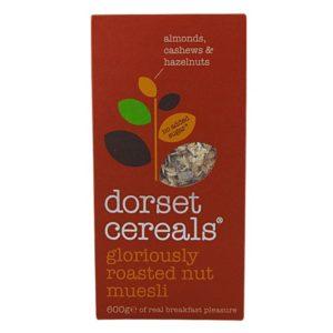 Dorset Cereals gloriously roasted nut muesli