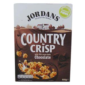 Jordans Country Crisp Chocolate