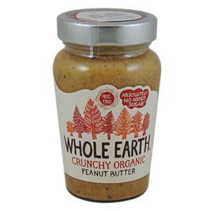 ekologiczne masło orzechowe z kawałkami orzechów