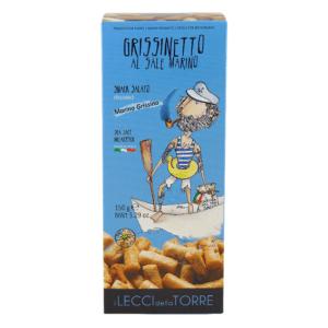 Krakersy z solą morską