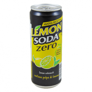 Lemon soda zero