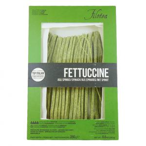fettuccine szpinak