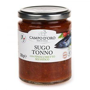 sos pomidorowy z tuńczykiem